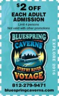 Bluespring Caverns Park Logo